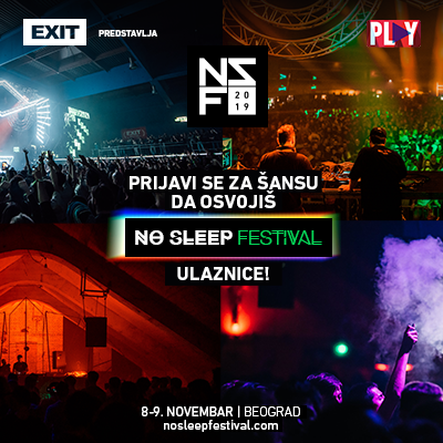 Osvoji karte za No Sleep festival!