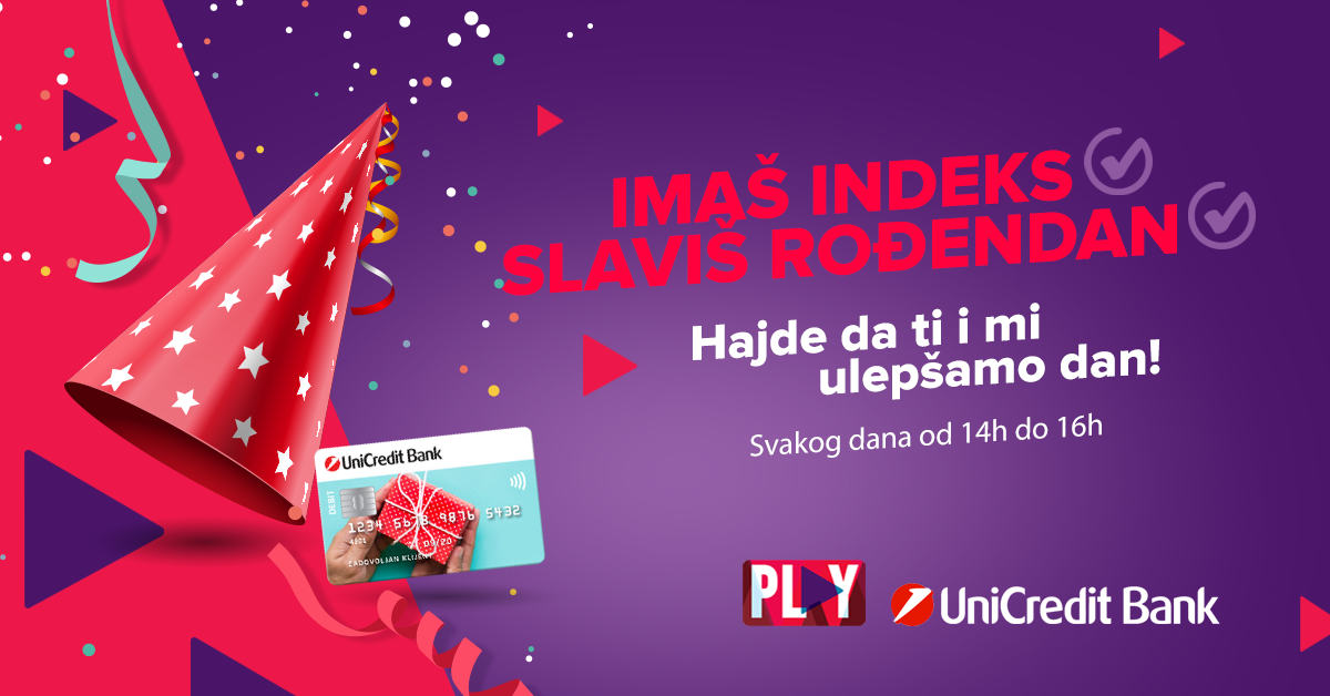 UniCredit Banka & Play radio nagrađuju